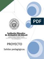 PROYECTO SALIDAS PEDAGÓGICAS