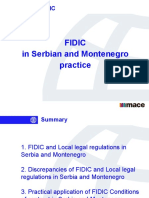 FIDIC in Serbian and Montenegro practice.pdf