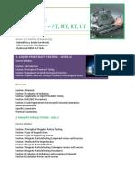 ASNT-NDT Level -II in RT, UT MT, PT.pdf