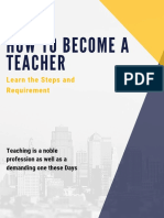How to Become a Teacher.pdf