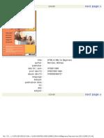 HTML & XML for Beginners