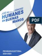 Programa Electoral Partido Popular Humanes de Madrid 2019-2023