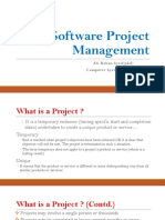 Software Project Planning (Ch.5)