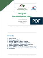 Trend Survey of International Apparel Industry (Nov2016)