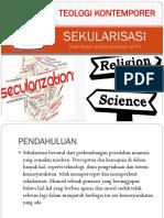 TEOLOGI SEKULARISASI & SEKULARISME