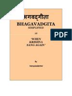 Krishna Bhagavadgita