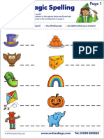 Spellings Activity Sheet 041218