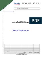 0814-B090-DCCQ-005电除尘器使用说明书封面(英文)