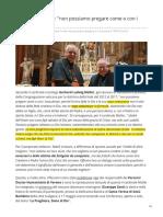 Ilgiornale.it-il Cardinale Müller Non Possiamo Pregare Come o Con i Musulmani