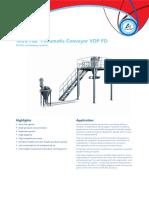 Tetra Pak Pneumatic Conveyor Vdp Fd