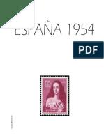 Hojas Album 1954