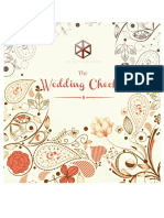 Njab Wedding Checklist