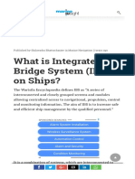 What is Integrated Bridge System (IBS) on Ships.pdf