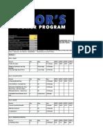 Thors Power Program Load Calculator Microsoft Excel.gsheet