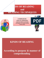 Read and Reading techniques