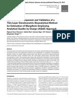 Journal of Chromatographic Science Volume Issue 2016 [Doi 10.1093_chromsci_bmw001] Khurana, Rajneet Kaur; Rao, Satish; Beg, Sarwar; Katare, O.P.; S -- Systematic Development and Validation of a Th