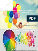 cromatica in stomatologie