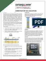 Norsepower Rotor Sail Solution Brochure 2018-10-30