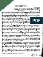 Louis Massoneau - quartet in F, violin part