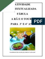 Atividade Contextualizada a RÃ E O TOURO (1)