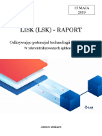 Lisk (LSK) - RAPORT by Stokarz
