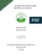 KEBUTUHAN GIZI PADA IBU HAMIL TRIMESTER I.docx