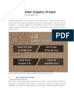 The Four Khalifah