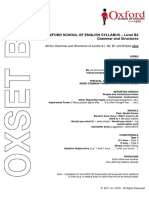 OXSET B2 - Grammar and Structures