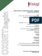 OXSETbeginner -Grammar and Structures