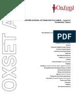 Oxset a1 - Topics