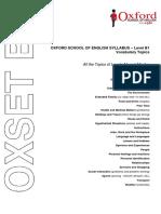 Oxset b1 - Topics