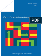 Effects of Social Policy on Domestic Demand