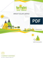 Bright Solar - Company Overview