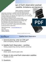 EO Using Small Satellites Capabilities