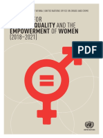UNOV-UNODC Strategy for Gender Equality and the Empowerment of Women 2018-2021 FINAL