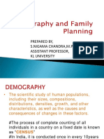 Demography and family planning