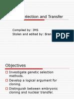 Genetic Transfer Pp t