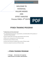 Pfmea Training Program- New