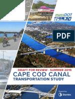 Executive summary of the Cape Cod Canal Transportation Study