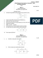 Network analysis paper
