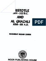 Aristotle and Al-Ghazali