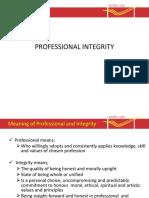02 PPTprofessional Integrity 1