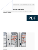 Power Transformer Protection and Relaying