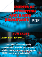 Rudiments of Scriptwriting