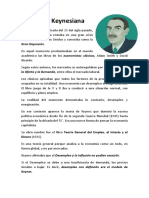 Economía Keynesiano sintesis