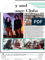 hobby and language clubs page