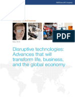 MGI Disruptive Technologies Executive Summary May2013