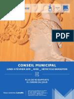 Conseil Municipal 04-02-2019