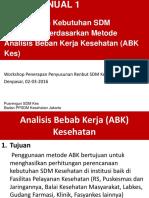 02-SLIDES Metode ABKes -Buku Manual 1 (SMR 20-23 Okt 2015)