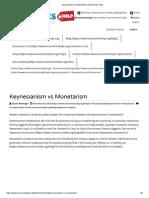 Keynesianism vs Monetarism _ Economics Help